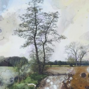 landschap met dikke lucht en vette klei | Robert Wevers