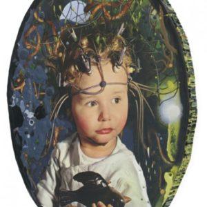 kind met krulhazelaar | Robert Wevers